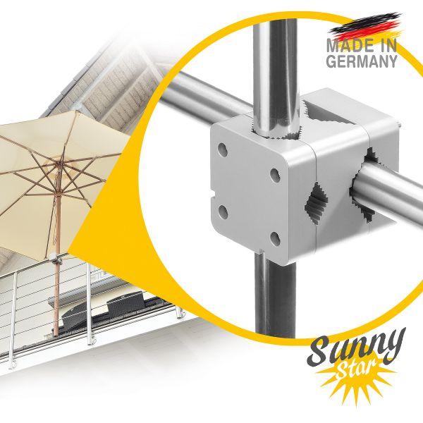 Sunnystar Sonnenschirmhalter Balkongeländer