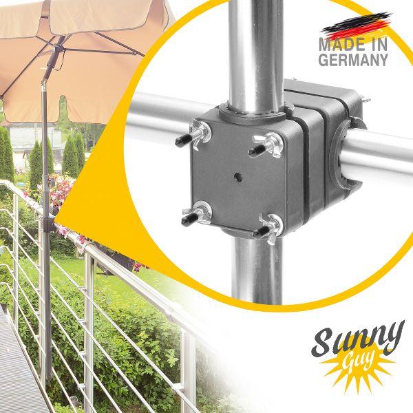 Sunnyguy Sonnenschirmhalter Balkongeländer